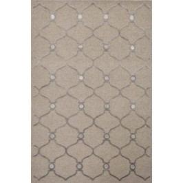 Ručne viazaný koberec Bakero Alicante 10-36 4640 Brown