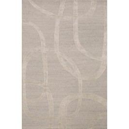 Ručne viazaný koberec Bakero Alicante 10-36 4642 Silver-Beige