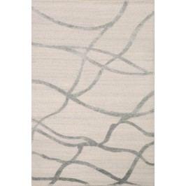 Ručne viazaný koberec Bakero Alicante 8-40 4644 Silver Turquise