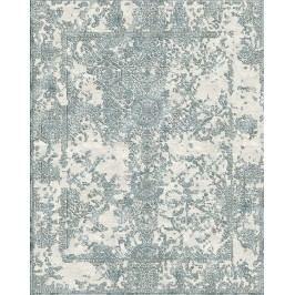 Ručne viazaný koberec Bakero Versailles prírodný hodváb Ws-2 Beige-Grey