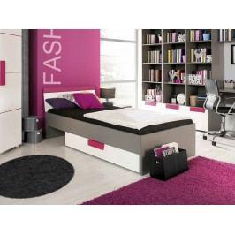 Jednolôžková posteľ 90 cm Lobete Typ 09 LBLL09