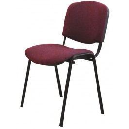 Konferenčná stolička Iso New bordová