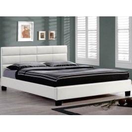 Manželská posteľ 160 cm Mikel biela (s roštom)