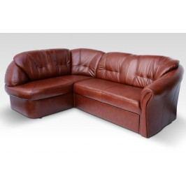 Kožená rohová sedačka Laredo (L)