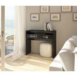 PC stolík Zoom čierna + lesk čierny