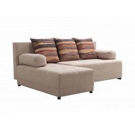 Rohová sedačka Brix (béžová) (L)