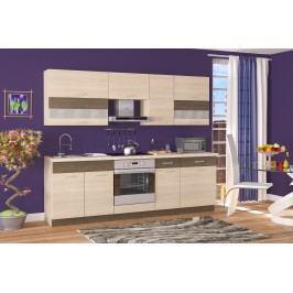 Kuchyňa Harmonia 240 cm dub svetlý