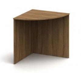 Rohový písací stôl Tempo Asistent New AS 024 bardolino tmavé