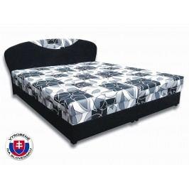 Manželská posteľ 180 cm Izabela 6 (s penovými matracmi)