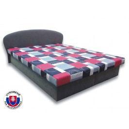 Manželská posteľ 160 cm Milka 1 (s penovými matracmi)