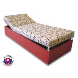 Jednolôžková posteľ (váľanda) 90 cm Darina (Tehlová 41 + Dodo 1008)