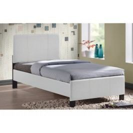 Jednolôžková posteľ 90 cm Arkona (biela) (s roštom)