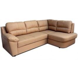 Kožená rohová sedačka Vaco (P)