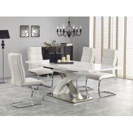Jedálenský stôl Sandor 2 (biela) (pre 6 až 8 osôb)