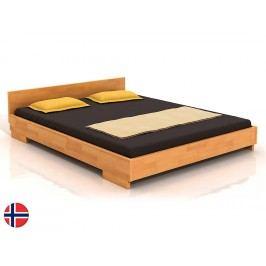 Manželská posteľ 160 cm Naturlig Larsos (buk) (s roštom)
