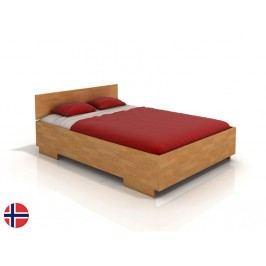 Manželská posteľ 180 cm Naturlig Larsos High (buk) (s roštom)