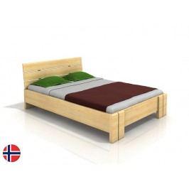 Manželská posteľ 200 cm Naturlig Tosen High (borovica) (s roštom)
