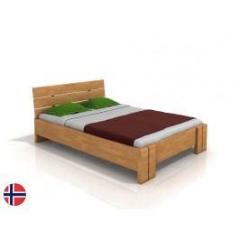 Manželská posteľ 180 cm Naturlig Tosen High (buk) (s roštom)