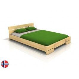 Manželská posteľ 180 cm Naturlig Lorenskog (borovica) (s roštom)