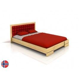 Manželská posteľ 200 cm Naturlig Storhamar (borovica) (s roštom)