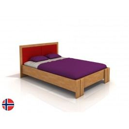 Manželská posteľ 160 cm Naturlig Manglerud High (buk) (s roštom)