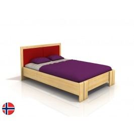 Manželská posteľ 200 cm Naturlig Manglerud High BC (borovica) (s roštom)
