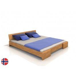 Manželská posteľ 160 cm Naturlig Blomst (buk) (s roštom)