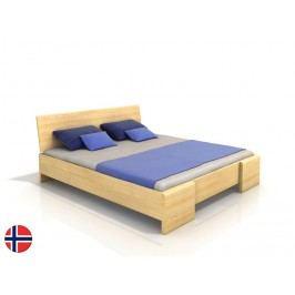 Manželská posteľ 160 cm Naturlig Blomst High BC (borovica) (s roštom)