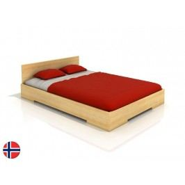 Manželská posteľ 160 cm Naturlig Kirsebaer (borovica) (s roštom)