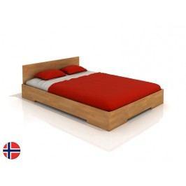 Manželská posteľ 160 cm Naturlig Kirsebaer (buk) (s roštom)