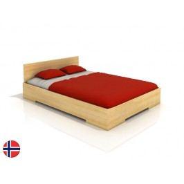 Manželská posteľ 160 cm Naturlig Kirsebaer High (borovica) (s roštom)