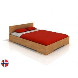 Manželská posteľ 180 cm Naturlig Kirsebaer High (buk) (s roštom)