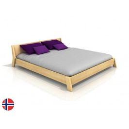 Manželská posteľ 200 cm Naturlig Skjolden (borovica) (s roštom)