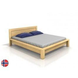 Manželská posteľ 160 cm Naturlig Fjaerland (borovica) (s roštom)
