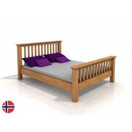 Manželská posteľ 160 cm Naturlig Leikanger (buk) (s roštom)