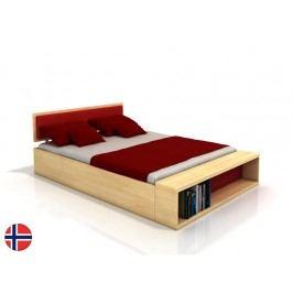 Manželská posteľ 180 cm Naturlig Invik (borovica) (s roštom)