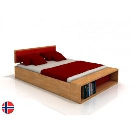 Manželská posteľ 160 cm Naturlig Invik (buk) (s roštom)