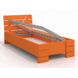Jednolôžková posteľ 120 cm Naturlig Kids Lorenskog High BC (borovica) (s roštom)