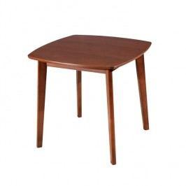 Jedálenský stôl Rospan 80 (pre 4 osoby) (orech)