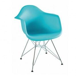 Jedálenská stolička Feman new (mentolová)