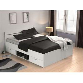 Manželská posteľ 140 cm Michigan (biela)