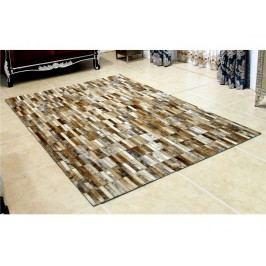 Kožený koberec TYP 05 (hovädzia koža + vzor patchwork)