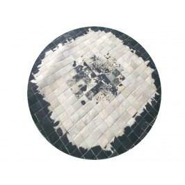 Kožený koberec TYP 09 (hovädzia koža + vzor patchwork)