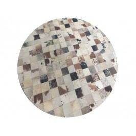 Kožený koberec TYP 10 (hovädzia koža + vzor patchwork)