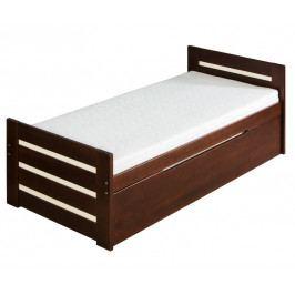 Rozkladacia posteľ 90 cm Davon (s roštami a úl. priestorom)