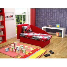 Detská sedačka Sefir (červená) (L)