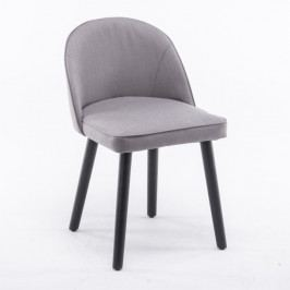 Jedálenská stolička Lalima (sivohnedá)