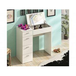 Toaletný stolík Belina (biela)