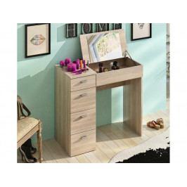 Toaletný stolík Belina (dub sonoma)