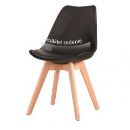 Jedálenská stolička Bali new (čierna)
